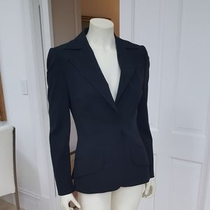 Dolce and Gabana couture black blazer